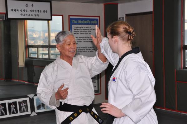 Grandmaster Park, Master Carlson, teaching, learn, experience, seminar, Korea
