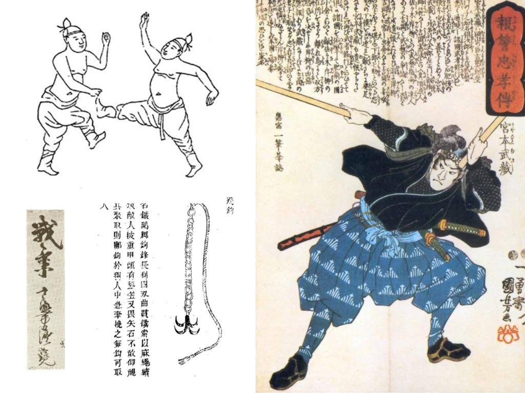 ancient martial arts texts